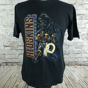 VTG Washington Redskins T-Shirt Size Large Black